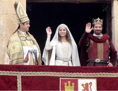 Michelle Jenner y Rodolfo Sancho, encarnan a Isabel y Fernando