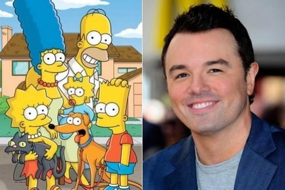 Seth MacFarlane hará un cameo en 'Los Simpson'