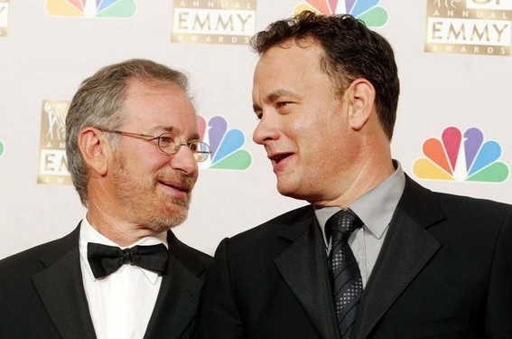 Tom Hanks y Steven Spielberg