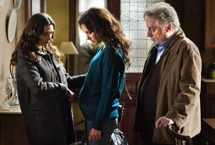 Lucía se enfrentará a su madre, esta noche en 'Gran Reserva'.