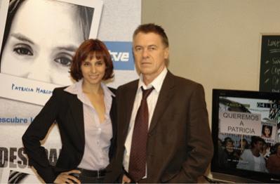 Esther Ortega y Miguel Ángel Sola protagonizan 'Desaparecida'.