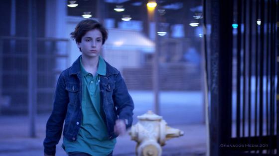 El joven actor Teo Halm en 'Girl meets World'.