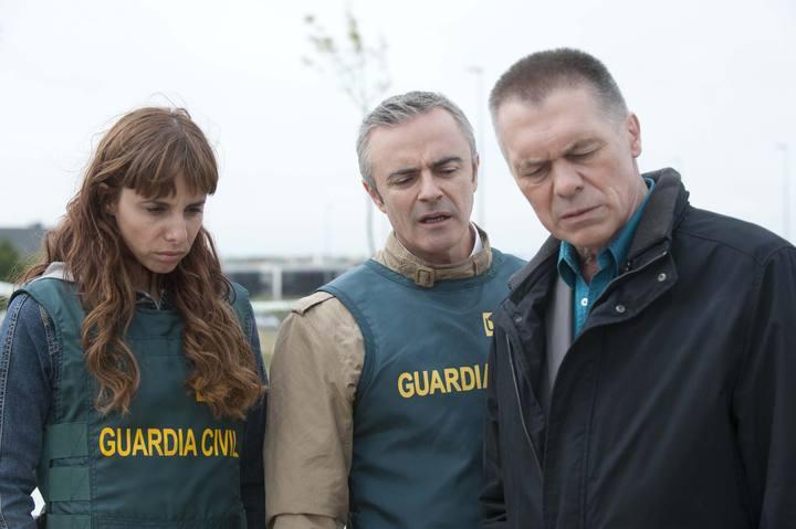 Ester Ortega, Eleazar Ortiz y Miguel Ángel Solá en 'UCO'