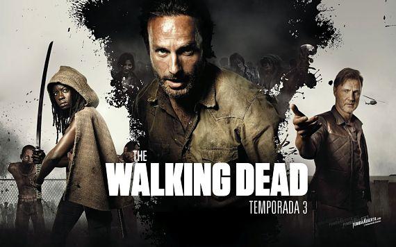 Imagen promocional de The Walking Dead