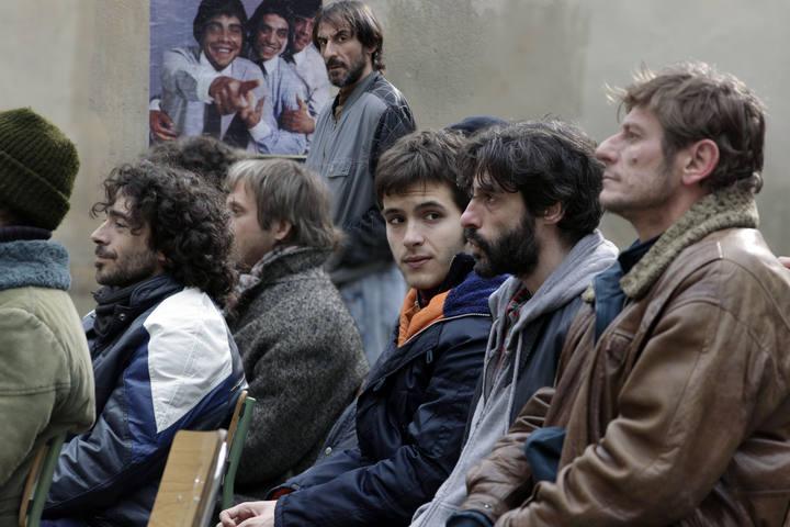Ricardo Gómez  en una escena de la serie de TVE, 'Cuéntame cómo pasó'.