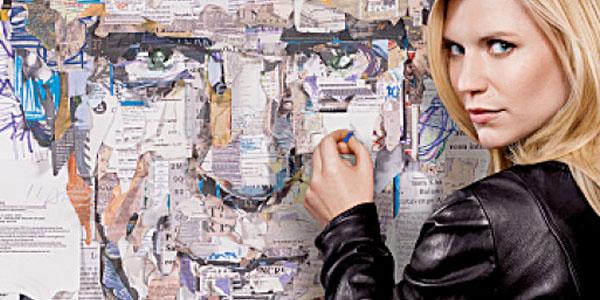 Claire Danes es Carrie Mathison en 'Homeland'.