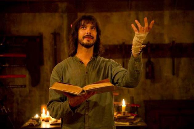 David Janer es el protagonista de la serie 'Águila Roja', que emite hoy La 1