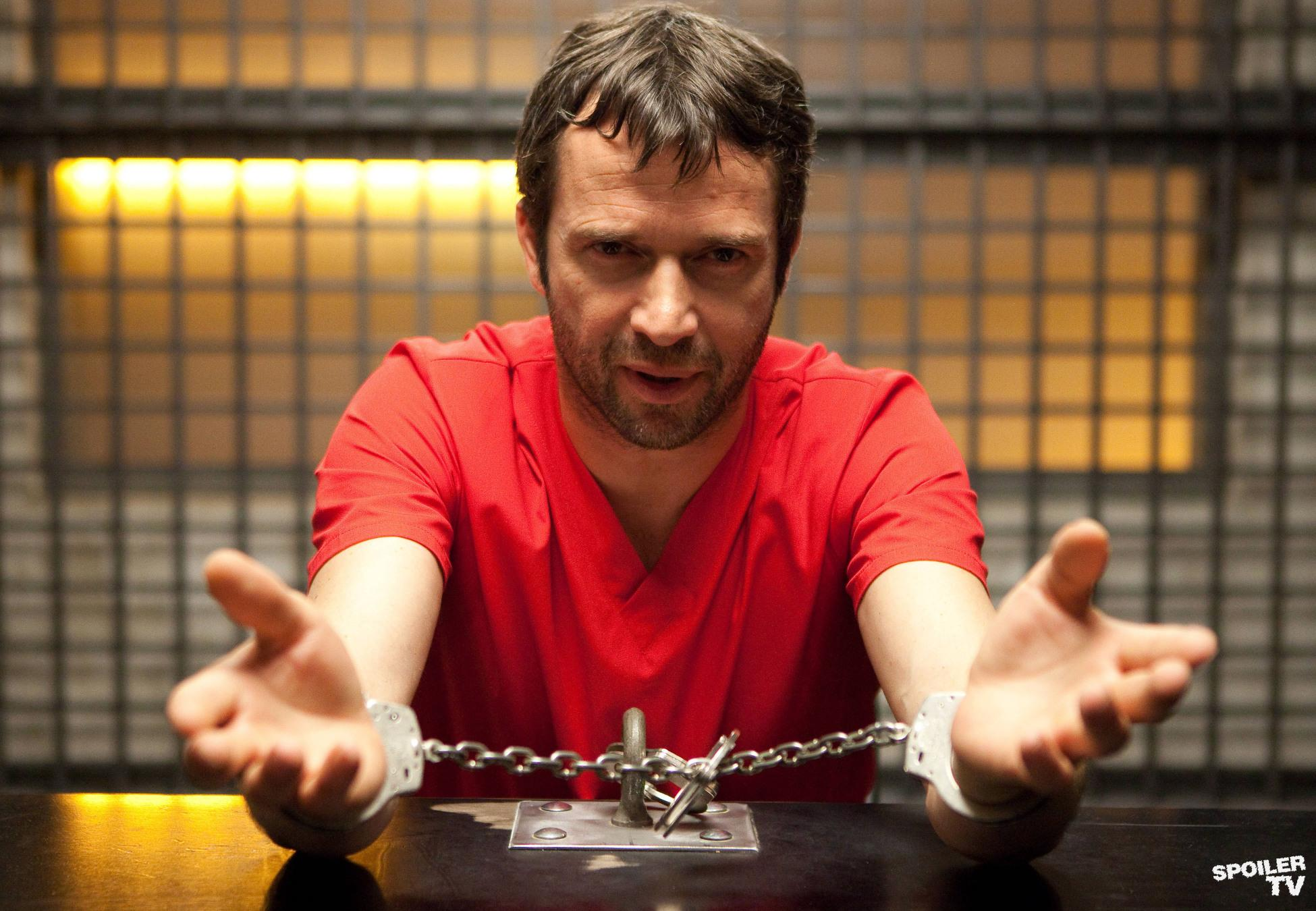 James Purefoy en la serie The Following