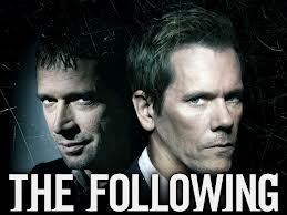 Kevin Bacon y James Purefoy en la serie The Following
