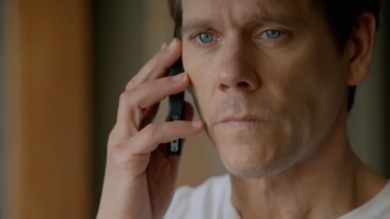 Kevin Bacon en la serie The Following