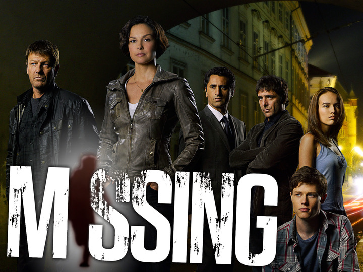 Parte del elenco de 'Missing', cuyo reparto encabeza Ashley Judd.