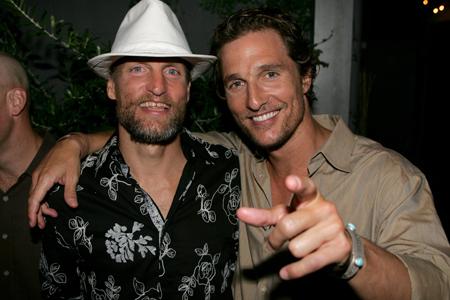 Woody Harrelson y Matthew McConaughey en la serie 'True Detective'.