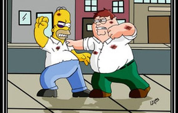Homer contra Peter Griffin