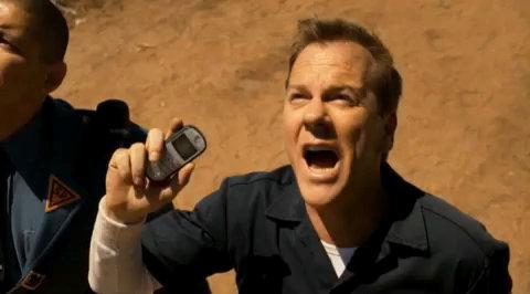 Kiefer Sutherland protagoniza la serie 'Touch'.