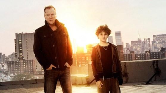 Kiefer Sutherland y David Mazouz protagonizan la serie 'Touch'.