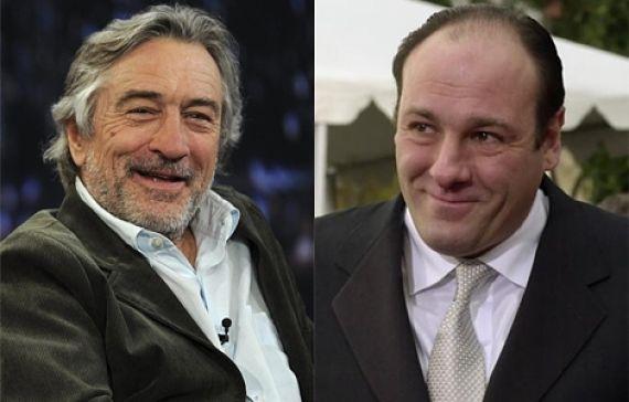 De Niro y Gandolfini