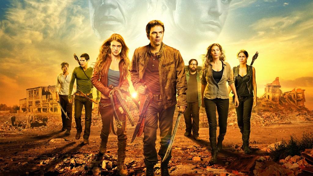 Algunos de los miembros del elenco de 'Revolution'.