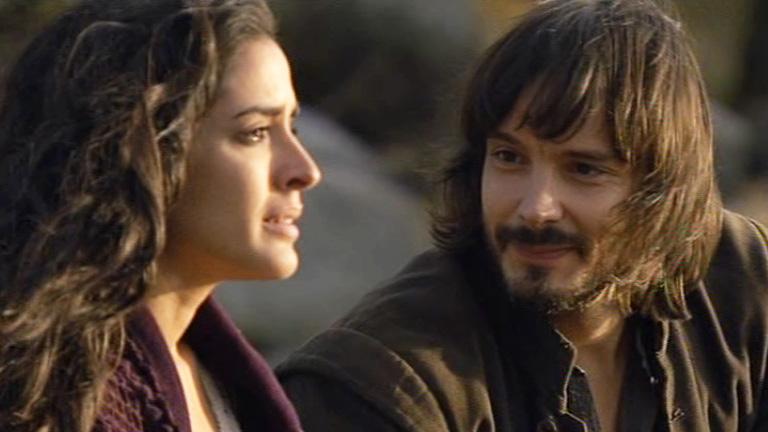 Inma Cuesta y David Janer protagonizan la serie 'Águila Roja' en La 1 de TVE.