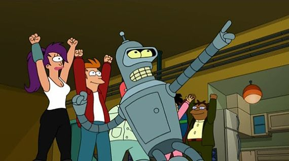 Fotograma de Futurama