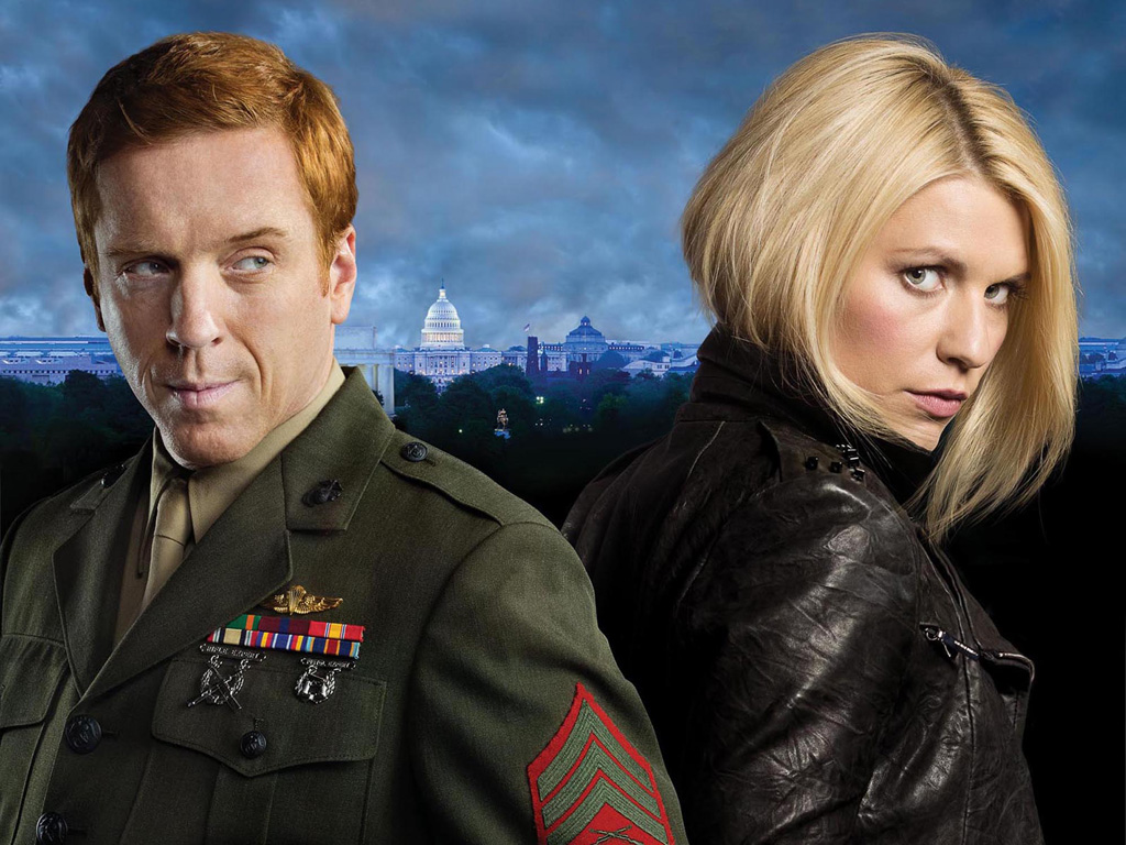 Claire Danes es Carrie Mathison en la serie de Cuatro 'Homeland'.