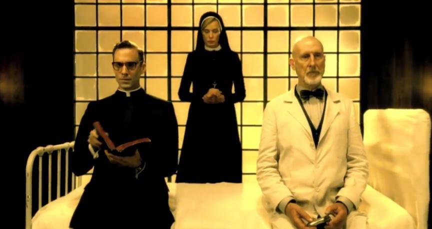 Escena de la serie dramática de terror 'American Horror Story Asylum' que podremos ver esta noche.