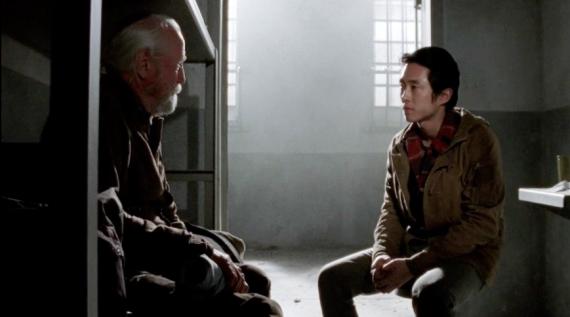 Glenn y Hershel