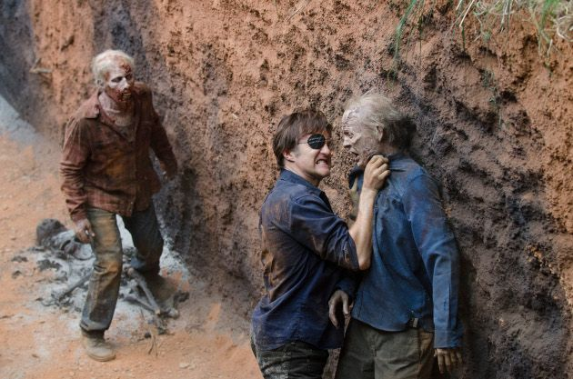 El Gobernador, en The Walking Dead