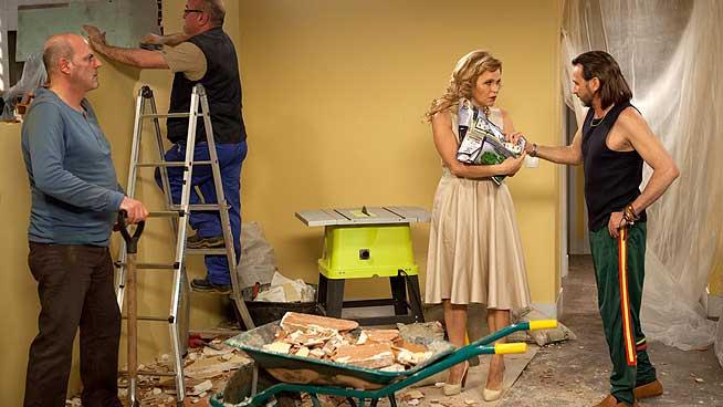 Estela Reynolds inicia la reforma de su nuevo hogar en 'La que se avecina'.